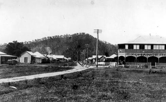 exchange hotel mossman 1910