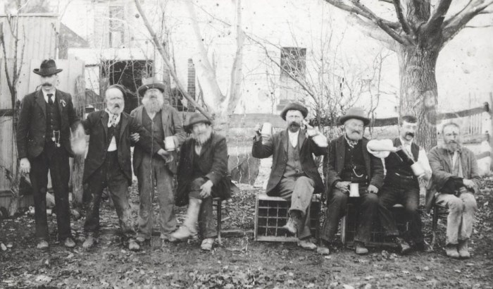 Drinkers at Lilydale pub Victoria Australia (No Date).