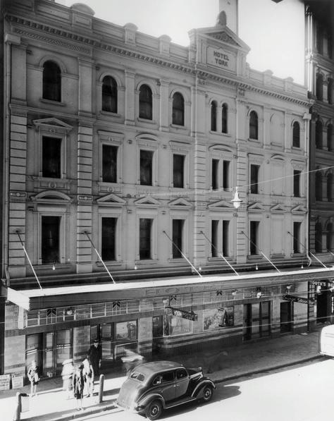 york hotel king street sydney