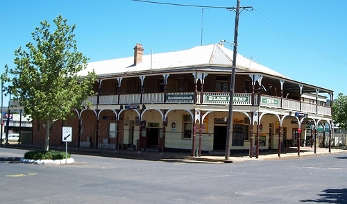 The Black Stump Hotel, Coolah, NSW today (2015)