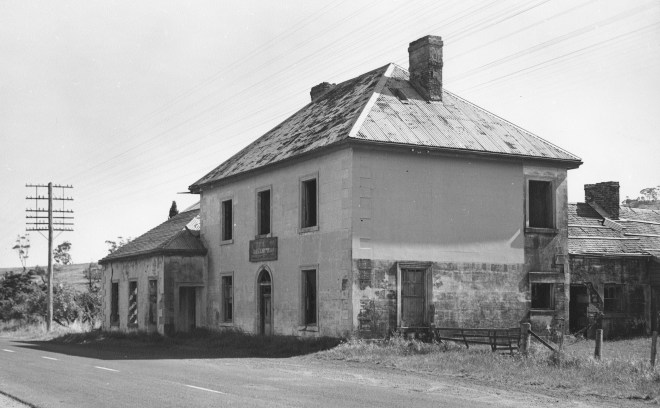 The Half Way House, Antill Ponds, Tasmania 1966.
