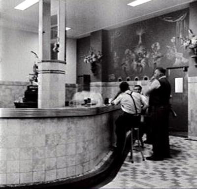 burlington hotel Haymarket bar 1953