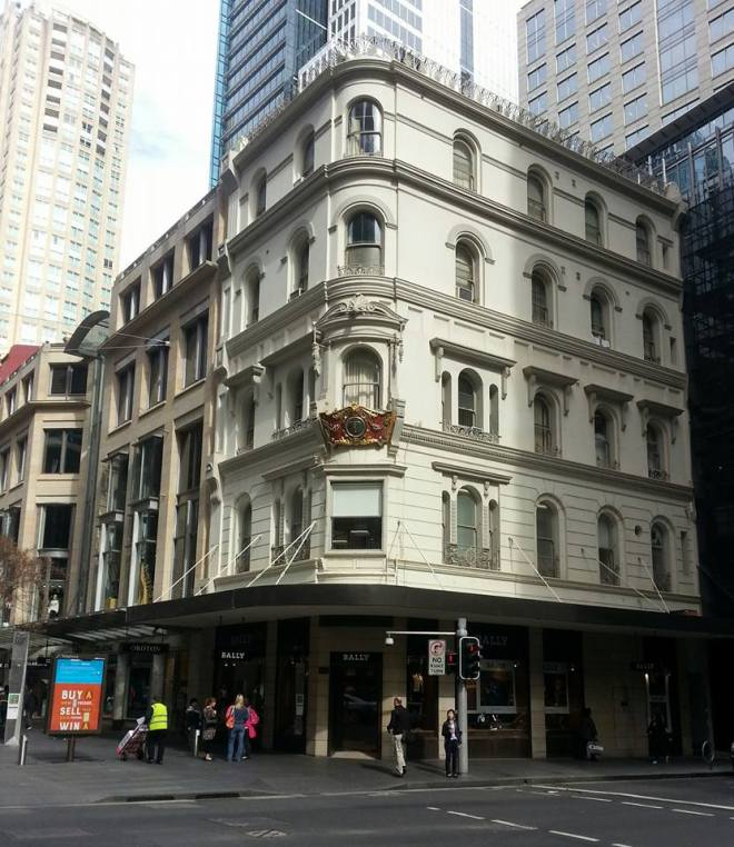 The former Liverpool Arms, Sydney 2015