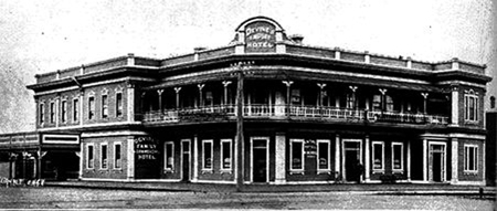 The Empire Hotel, Palmerston, New Zealand, where Duncan was born in 1881. The hotel continues to trade today.