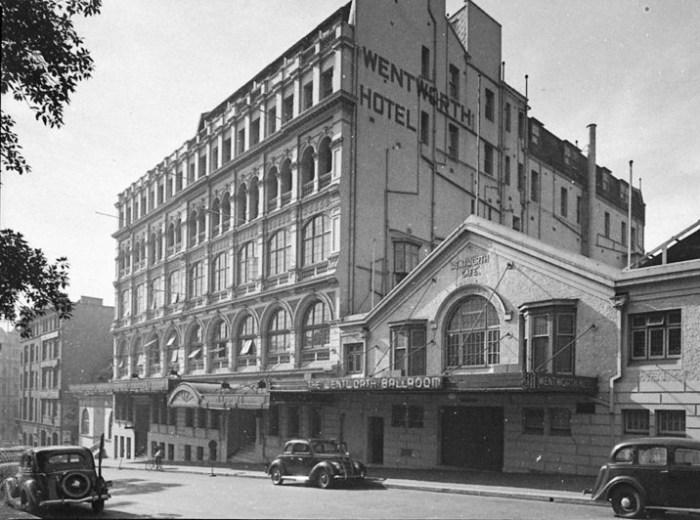 wentworth hotel Sydney mona vale 1938