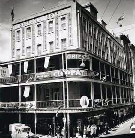 oriental hotel Adelaide 1964