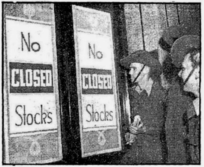 closed pub 1942