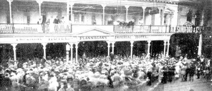 Flannagans Imperial Hotel Adelaide 1916