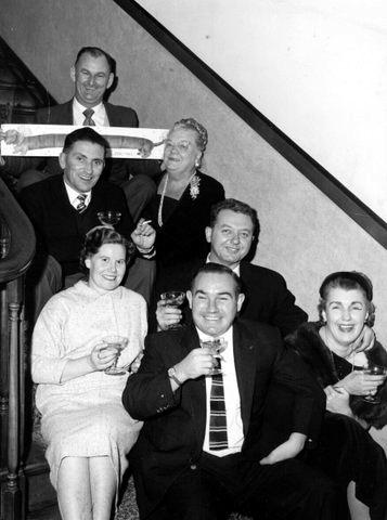 pam bob hilda with FriendsOnStairs.Illawarra hotel_c1960