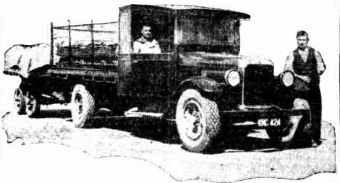 kalgoorlie beer truck 1933
