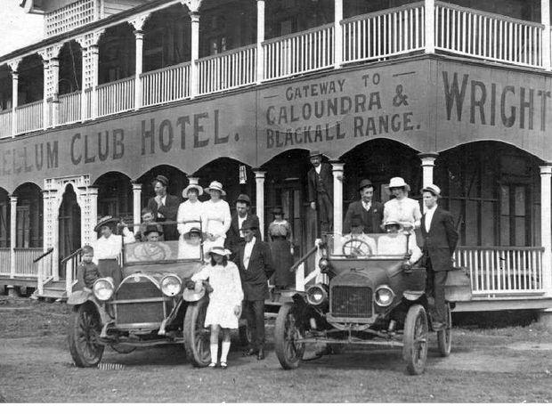 mellum club hotel c1912