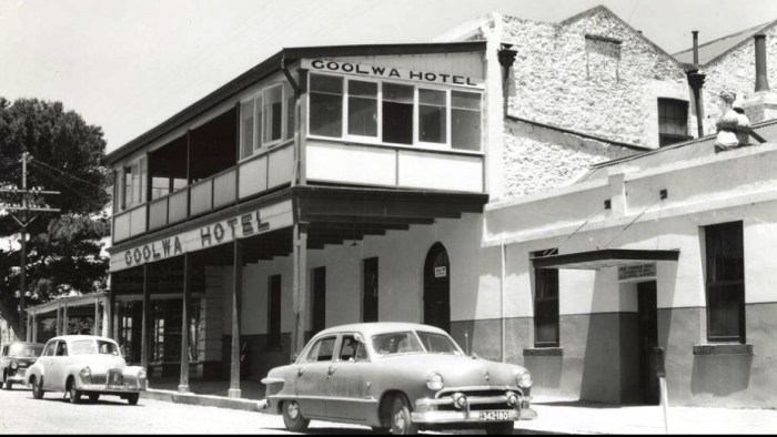 goolwa hotel 1950s