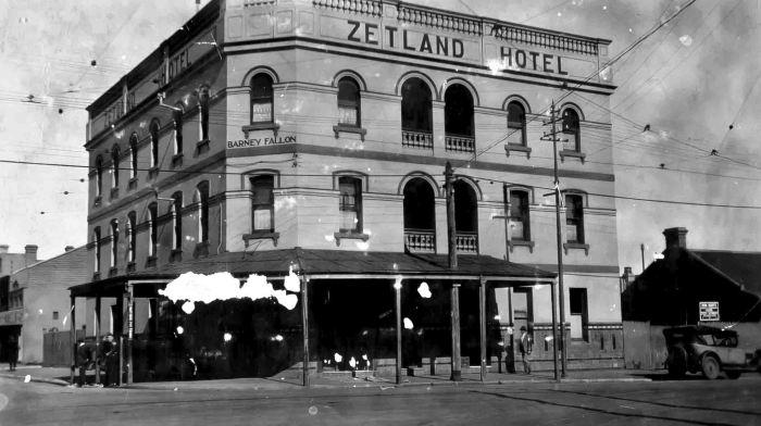 zetland hotel 1920 anu w