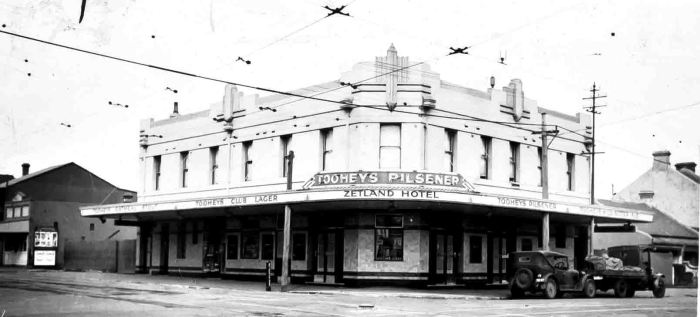 zetland hotel 1937 anu w
