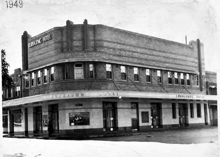 Kurrajong Hotel 1949 small