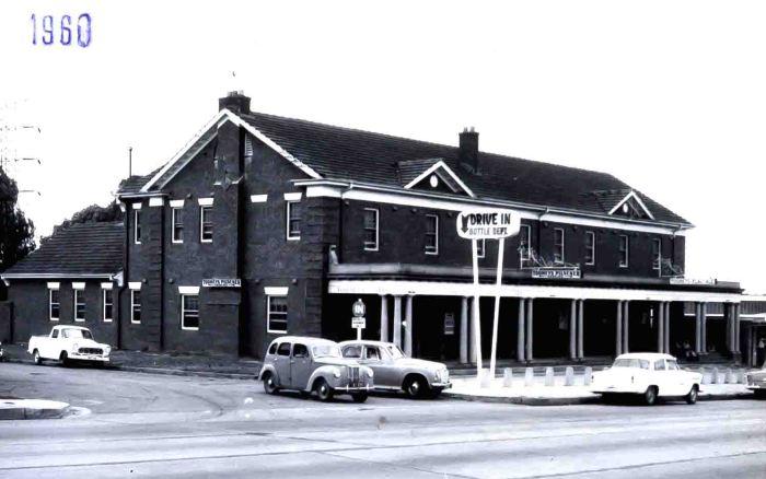 Wentworth Hotel Flemington 1960 small