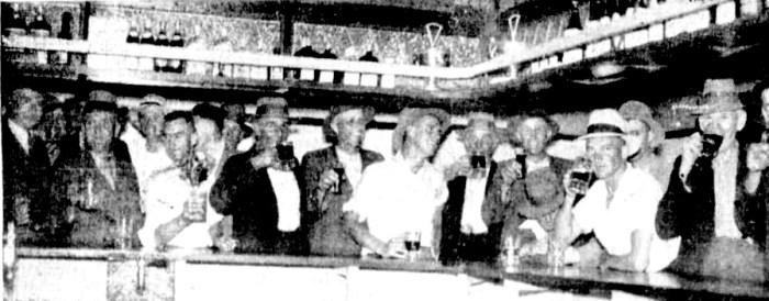 goulburn hotel bar 1935