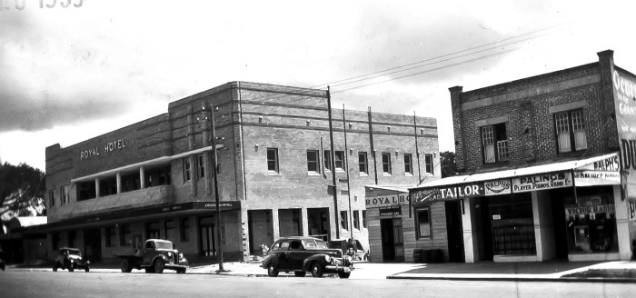 Royal Hotel Dungog 1939 ANU