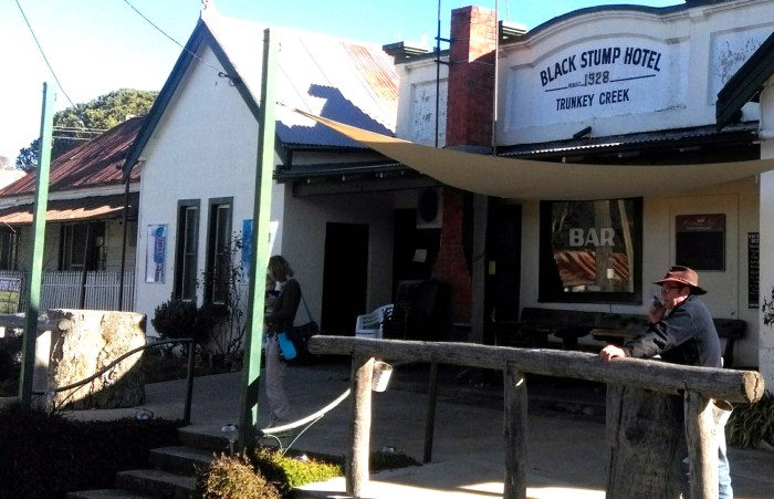 black stump hotel trunkey creek nsw farmer