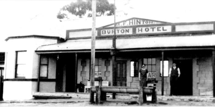 Burton Hotel Manoora c1925