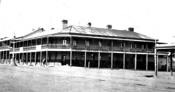 Great Western Hotel Orange 1925