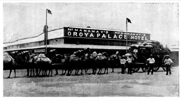 Oroya Palace Hotel Sandstone WA 1908