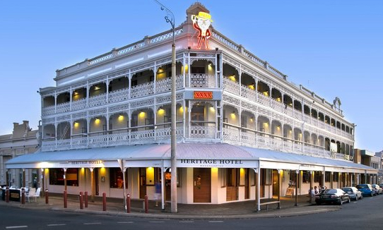 palace hotel now heritage hotel rockhampton qld 2017