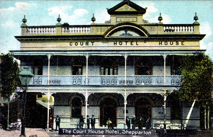court house hotel sheparton victoria