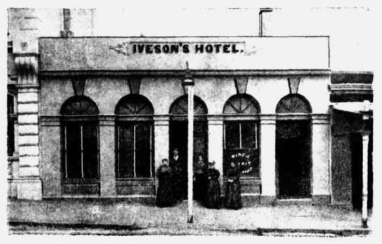 ivesons hotel daylesford victoria 1900