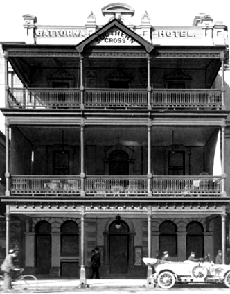 southern cross hotel adelaide 1913