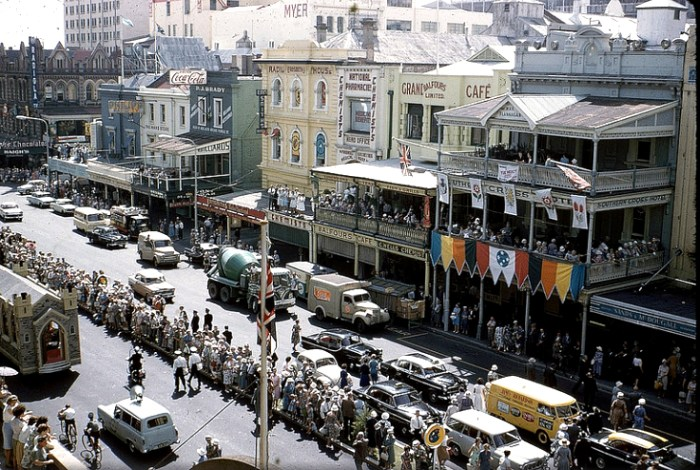 southern cross hotel adelaide 1962