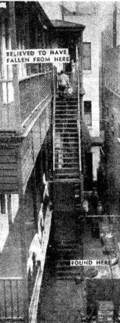 southern cross hotel fall 1952