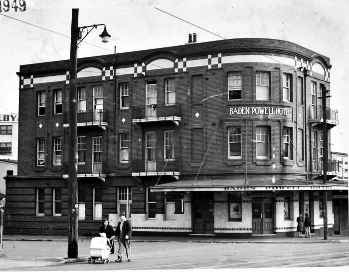 Baden Powell Hotel 1949 ANU