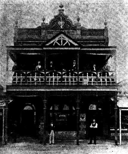 Grand Hotel Menzies WA 1898