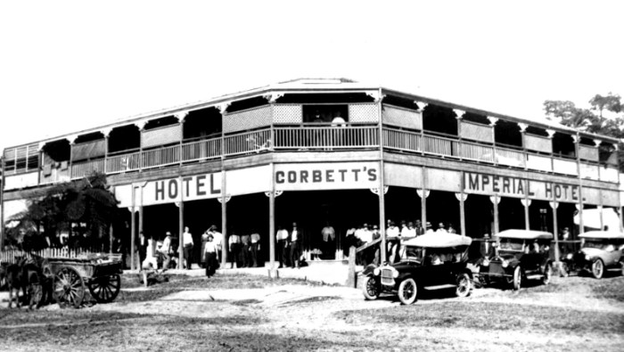 imperial hotel innisfail 1920