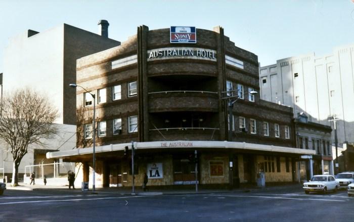 Australian Hotel Broadway Sydney NSW 1983 ANU