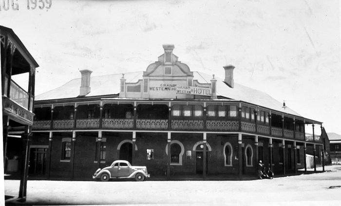 Grand Western Hotel Millthorpe NSW 1939 ANU