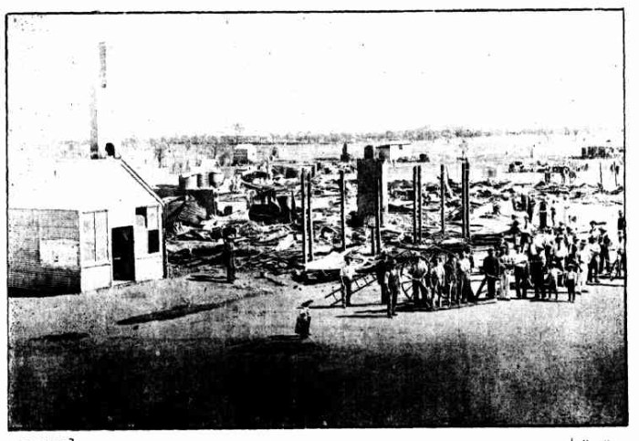 Menzies fire 1898
