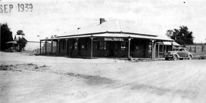 Wombat Hotel Wombat sept 1939 ANU