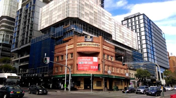 australian hotel broadway