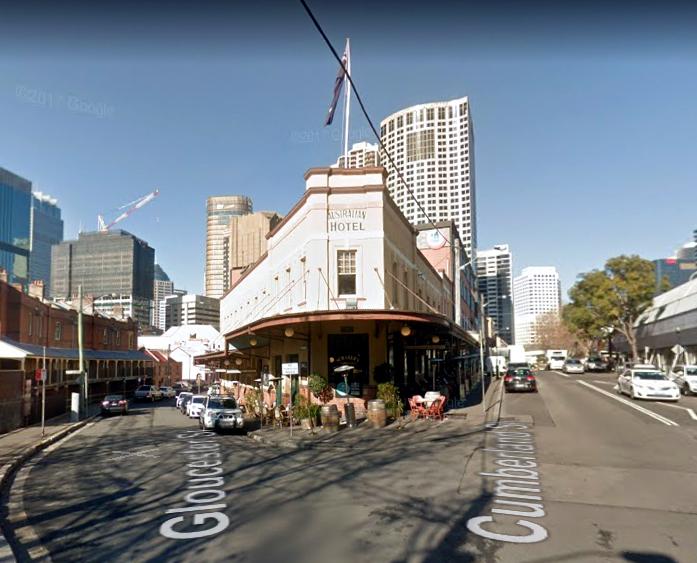 australian hotel the rocks google 2017