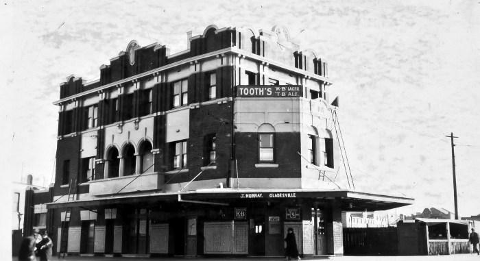 Bedford Hotel Redfern August 1930 ANU