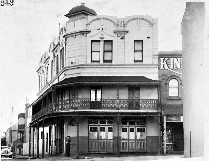 Cosmopolitan Hotel Erskineville NSW 1949 ANU