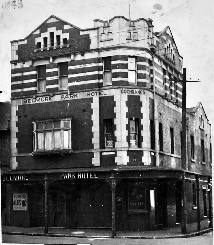Belmore Park Hotel Surry Hills NSW 1949 ANU