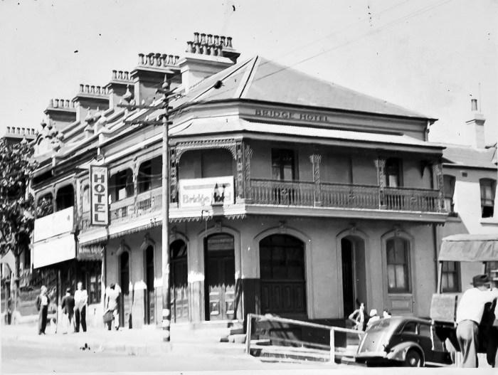 Bridge Hotel Forest Lodge NSW 1949 ANU