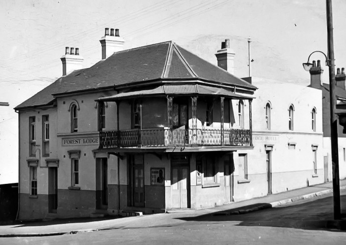 Forest Lodge Hotel Forest LOdge NSW 1949 ANU