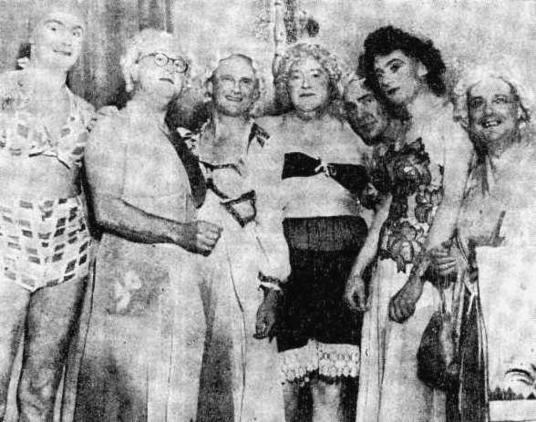 adelphi hotel men dressed as women 1946