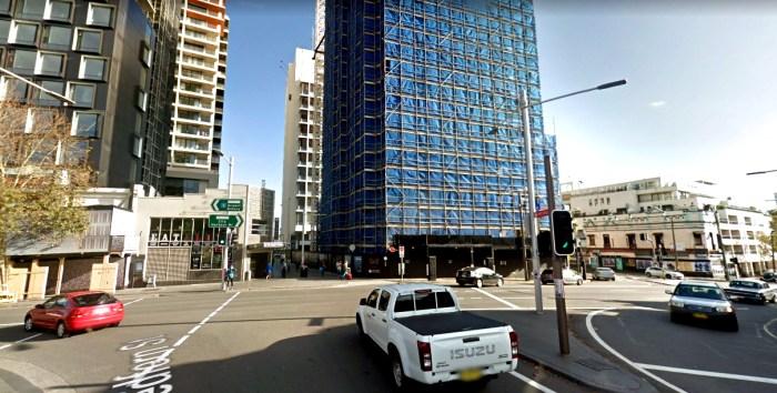 site of bellevue hotel redfern 2 google
