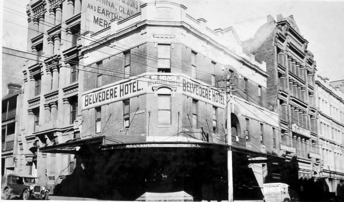 Belvedere Hotel Sept 1930