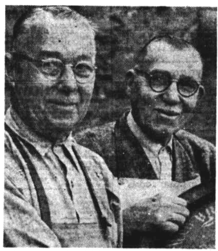 coopers and brothers Henry and Louis Foureur of SA 1952